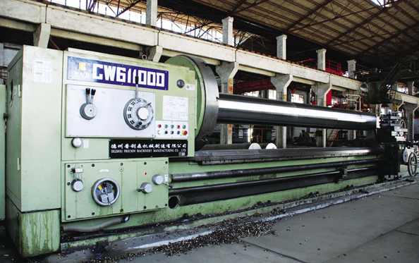 Large-scale Lathe